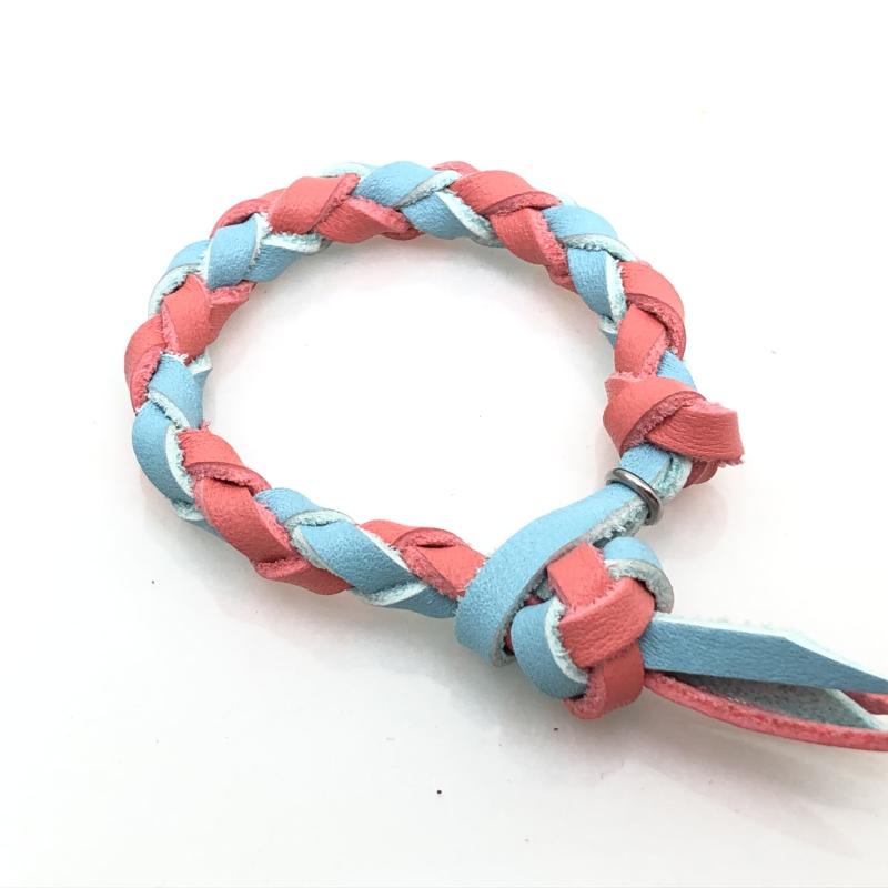 四つ編みブレス1